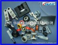 Professional custom injection molded parts of various common hardware | door sliding door pulley | metal stampings