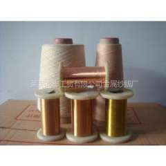 Supply anti-static fabric with copper wire, copper wire with a soft textile textiles aliases Shandong Laiwu specialized in the production of wire can be customized according to needs