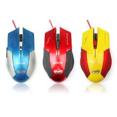 New 3600 DPI 6 Button Optical USB Wired Gaming Mouse Mice For PC Laptop Computer Just for you