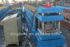 M shaped steel cold roll forming machine