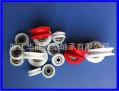 Factory direct supply U-groove concave groove plastic bag plastic bearings | Plastic pulley