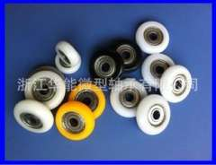 Professional custom direct supply arc-shaped plastic bearing pulley | POM plastic bag bearing pulley