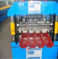 steel roof wall panel cold roll forming machine