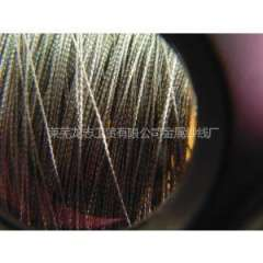 Special supply electrode copper wire, copper wire core-spun yarn, silver plated copper wire coated with polyester lines, 200D-2000D can be customized according to the needs