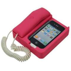 IPhone 4 exclusive mobile phone holder/vintage Scrubs telephone