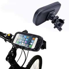New Bike WaterProof Case Holder For iPhone 4G 4S 5G 5S WaterProof Motorcycle Bike Handlebar Mount Case High Quanlity Wholesale