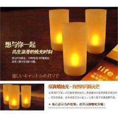 Full House Sound candle lamp