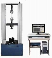 Wire and cable sheathing tensile testing machine