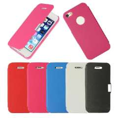Unique Magnetic Flip PU Leather Case Cover For iphone 5 5G 5S Snow