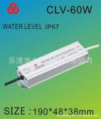 LED waterproof power supply 72W12V6A constant voltage power supply drive power LED waterproof rain switching power supply