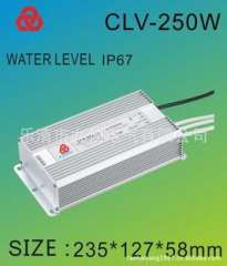 LED waterproof power supply 250w 12v LED constant voltage waterproof power supply | LED drive power lights