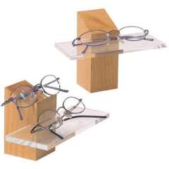 Wood small glasses display