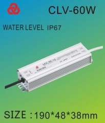Nine invasive waterproof power supply LED CLV60-48 / 36V LED drive power | DC power supply
