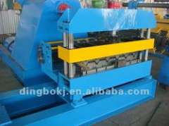 curving roof forming machine