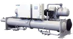 Flooded water-cooled screw chiller industry
