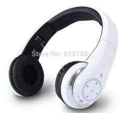 Free shipping Hifi Foldable Wireless Bluetooth Headphone headset earphone with mic for iOS Android smartphone and pc Tablet PC