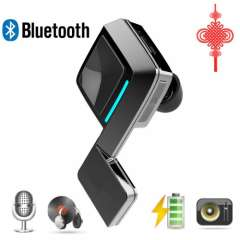 Wireless Bluetooth 4.0 Headset Headphone with Clear Voice Capture Echo cancellation for iPhone Galaxy Note and other Cellphones