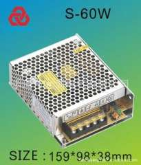 High-frequency switching power supply S-60-24V industrial switching power supply switching power supply security power led