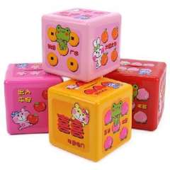 Lucky dice piggy bank / piggy bank | Random Color
