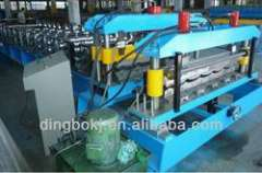 Automatic High Strength Steel Tile Roll Forming Machine
