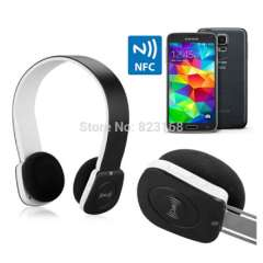 Wireless Headphone & NFC Bluetooth Headset with MIC For iPhone iPad Smart Phone Tablet PC Stereo Audio