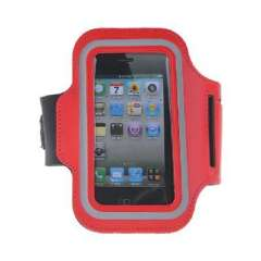 iPhone 5 sports armband - Red