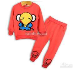 Wholesale - -2013 New children's clothing New fashion free shiping cool boy&girl long sleeve Sport Suit Child cotton casual clothes 10pcs\lot