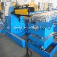 5 ton hydraulic decoiler with coil car