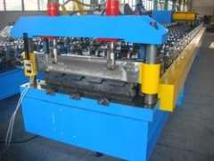 roof cladding sheet roll forming machine