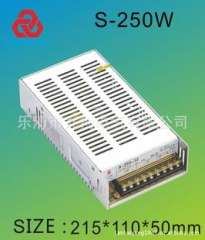 Manufacturers of high-frequency switching power supply S-250-24Vled industrial switching power supply switching power supply security power