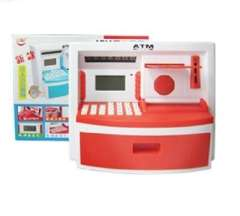 Creative large real voice ATM Cash Deposit Machine / ATM - Red