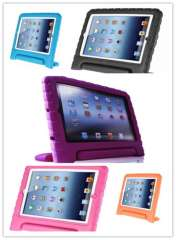 5 Colors Kids Safe Thick Foam Shock Proof Handle Tablet Case Cover Stand for iPad 4 3 2 Free Shipping