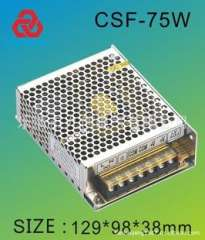 High-frequency switching power supply CSF-75-12 Full wide range input voltage power supply