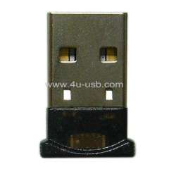 Driveless Micro Bluetooth USB Dongle (Adapter) With CSR Chip, Plug & Play