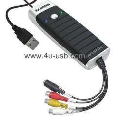 USB2.0 Video Grabber with Audio, Support MPEG-1\MPEG-2 compression format