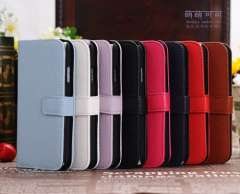 New Flip Litchi Leather Pouch Case Cover Card Wallet For Samsung Galaxy S4 SIV i9500 Multi Colors