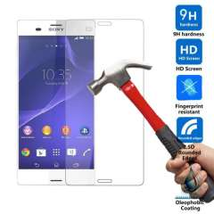 New Arrival Hot Phone Tempered Glass Film Screen Protector Cover 2.5D Anti Scratch For Sony Xperia Z3