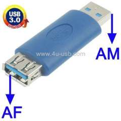 USB 3.0 AM to AF Adapter