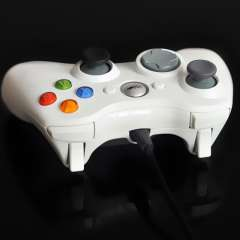 #XJ 2015 New Arrival White Color Wired USB Controller Gamepad Joystick for PC Computer Laptop with Free Shipping