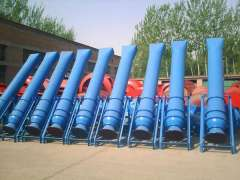 Cylinder rotary kiln furnace cooling fan