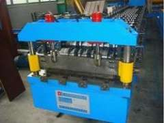 steel panel roof wall cold roll forming machine