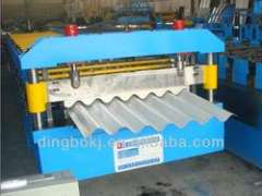 5.5KW corrugated roof forming machine with automatic stacker