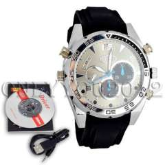 New Arrival 1920*1080P HD Waterproof Spy Watch Camera with IR Night Vision Hidden Cam 16GB