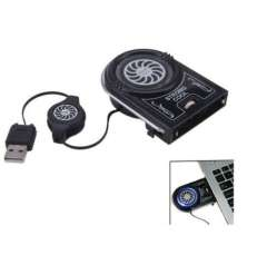 2014 New Laptop Notebook USB Cooling Pad Mini Vacuum Cooling Fan Air Extracting Cooler Free Shipping