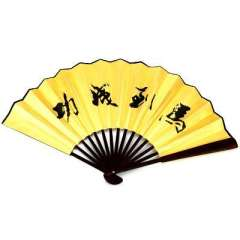 10 -inch folding fan raw silk / printing folding - instant success