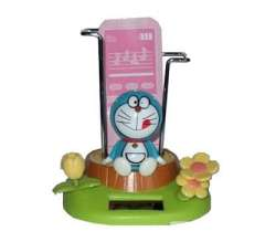 Jingle cats with mobile phone holder Solar doll