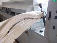 Curved line veneer technology