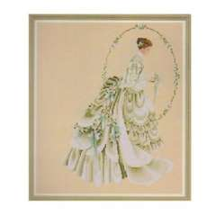 Wonderful love to marry brides cross stitch (D005)