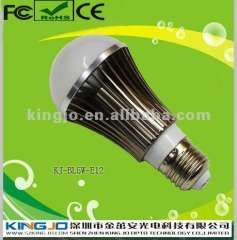 New E27 5w led global light bulbs with 3 years warranty