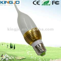 Dimmable LED candle light 42*131mm CE\ROHS\FCC